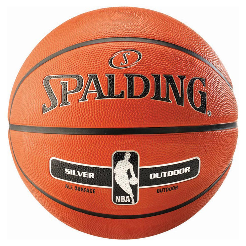 Spalding NBA Silver Outdoor Series Ball - Size 7