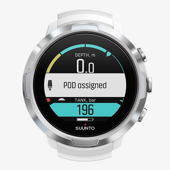SUUNTO D5 WHITE WITH USB - Dawson Sports