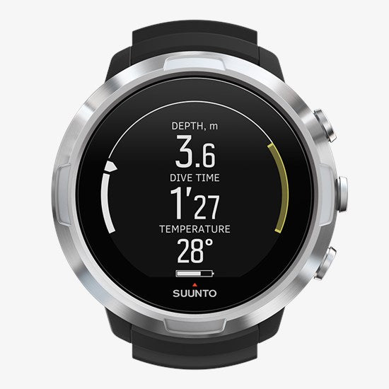 SUUNTO D5 BLACK WITH USB - Dawson Sports