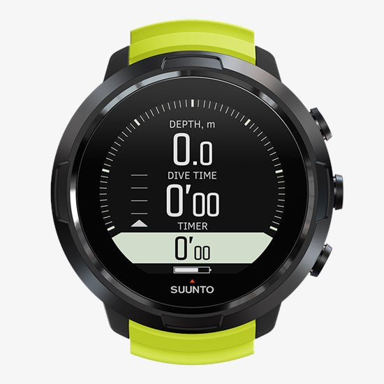 SUUNTO D5 BLACK / LIME - Dawson Sports