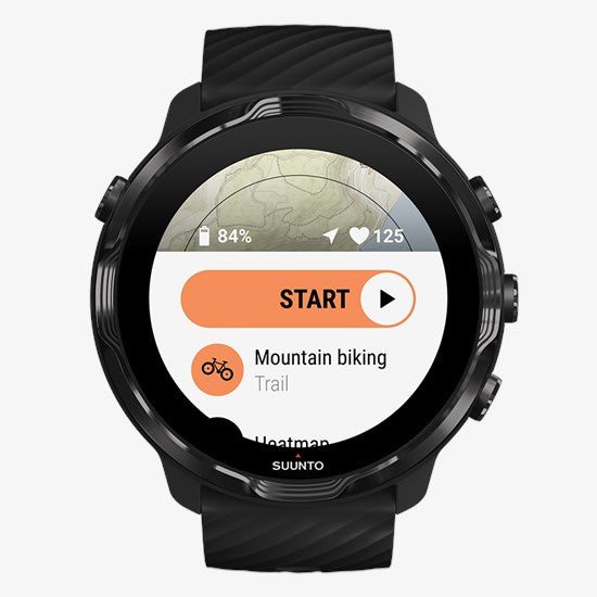 Suunto 7 Smartwatch - All Black