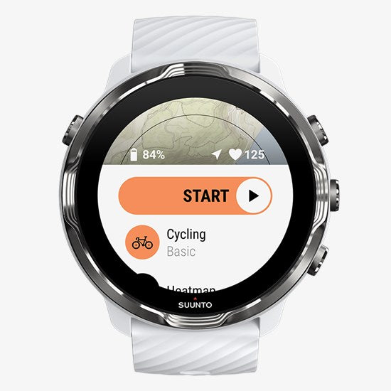 Suunto 7 Smartwatch - White Burgundy