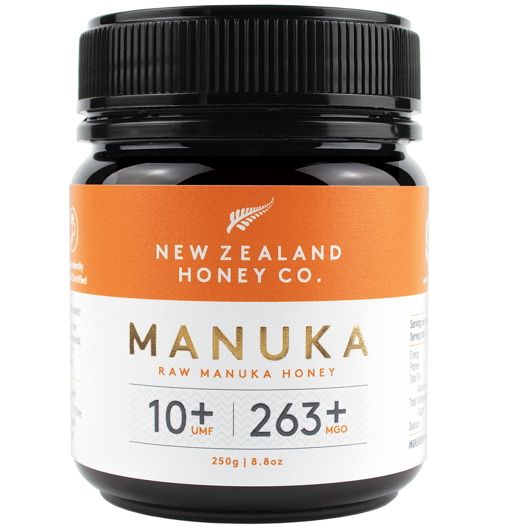 New Zealand Honey Co Raw Manuka Honey (UMF 10+ / MGO 250+) - 250g
