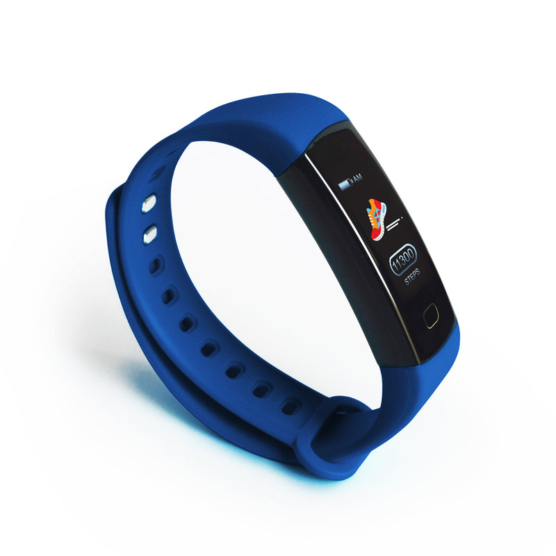DS Health Band Smart Fitness Tracker - Blue