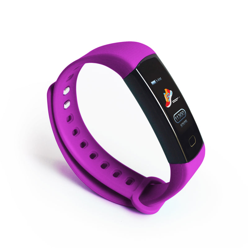 DS Health Band Smart Fitness Tracker - Purple