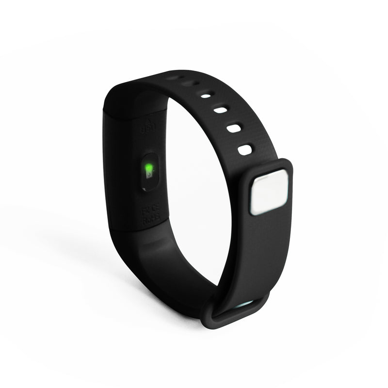DS Health Band Smart Fitness Tracker - Black