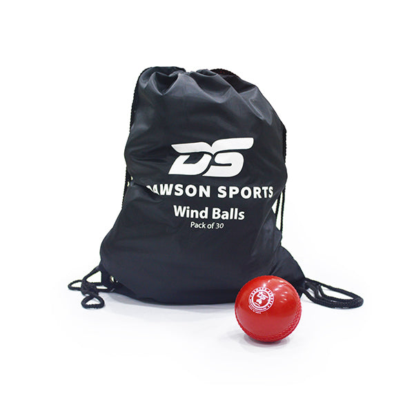 DS Cricket Ball with Bag (Pack of 30)