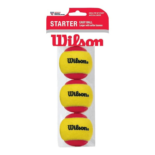 WS Starter Red Tennis Ball - Pack of 3