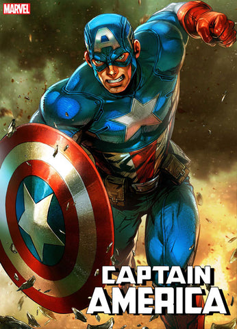 CAPTAIN AMERICA #4 YOON LEE MARVEL BATTLE LINES VAR 10/10/2018