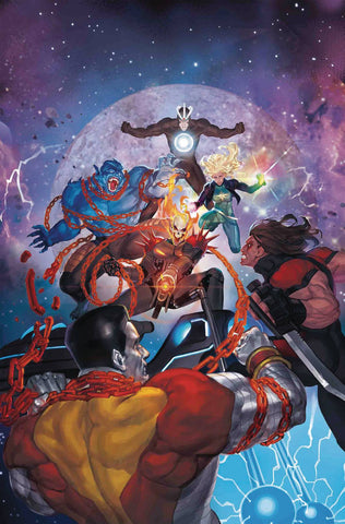 ASTONISHING X-MEN #15 AKCHO COSMIC GHOST RIDER VAR 9/5/2018