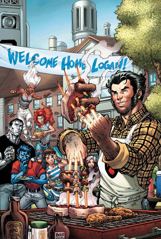 RETURN OF WOLVERINE #1 (OF 5) NAUCK PARTY VAR 9/19/2018