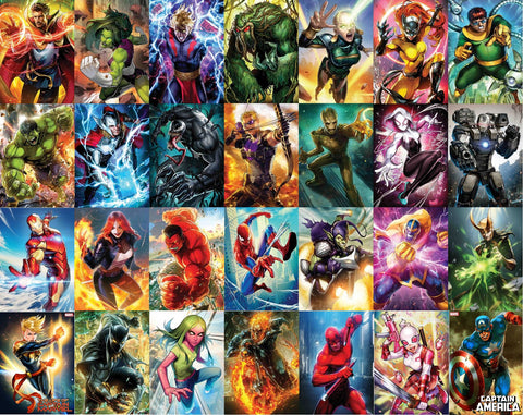 MARVEL COMICS BATTLE LINES VARIANT SET (28 ISSUES) 11/1/2018