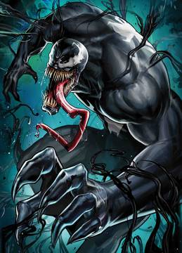 VENOM #7 YOON LEE MARVEL BATTLE LINES VAR 10/10/2018