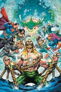 JUSTICE LEAGUE AQUAMAN DROWNED EARTH #1 VAR ED 11/07/2018