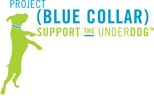 Project Blue Collar is a lifestyle brand dedicated to raising awareness of dog adoption