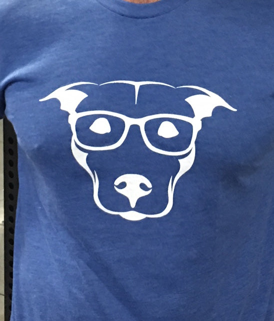 Pittie2020 Unisex Blue Tshirt