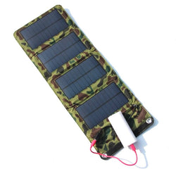 Portable 7W Solar Charger Panel  for USB Output