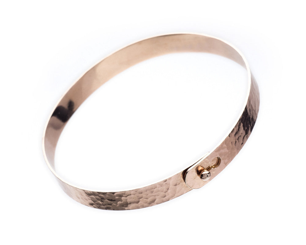 Heritage Rose Gold Bangle