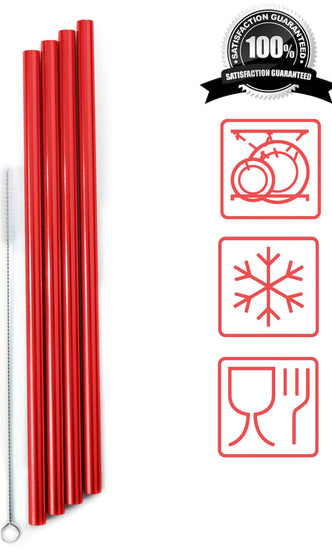 REUSABLE ALUMINIUM  STRAWS