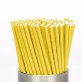 PAPER BIODEGRADABLE STRAWS  - 180 PIECES