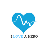 SHORT SLEEVE UNISEX T-SHIRT - I LOVE A HERO