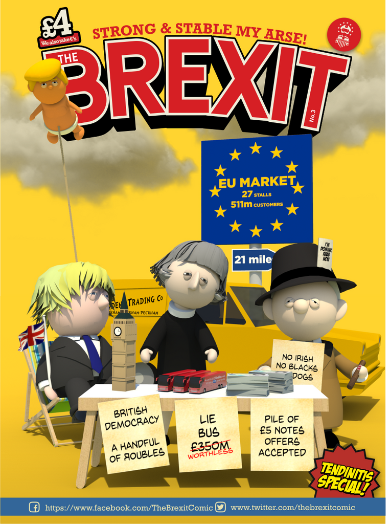 The Brexit Comic Latest Edition Descience