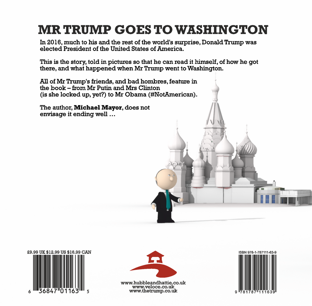Mr Trump Goes To Washington Book