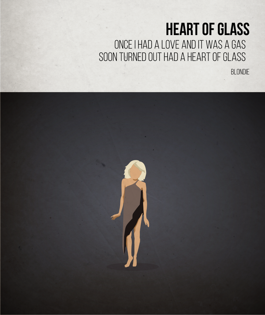 Heart of Glass - Blondie - Beatone Canvas Print 2020