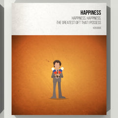 Happiness - Ken Dodd - Beatone Canvas Print 2020