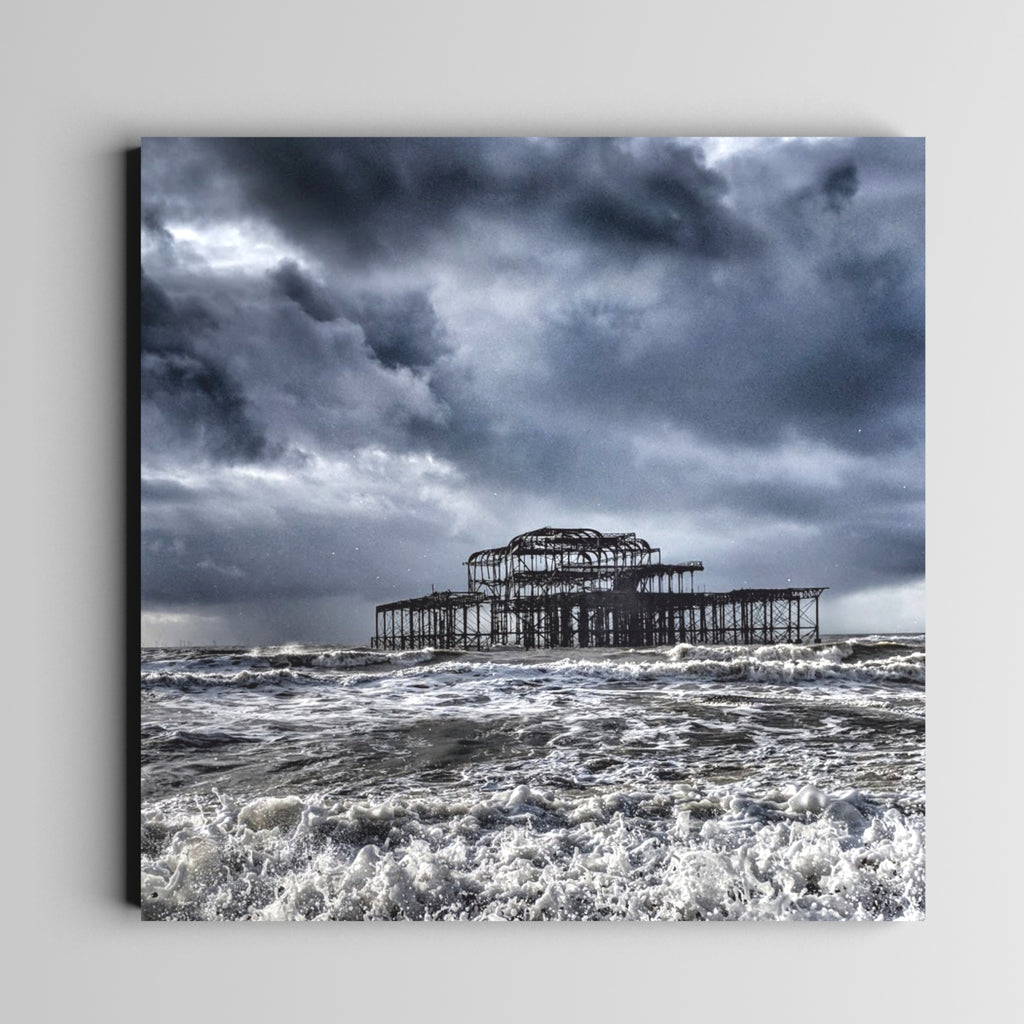 Hail to the Pier (Print)