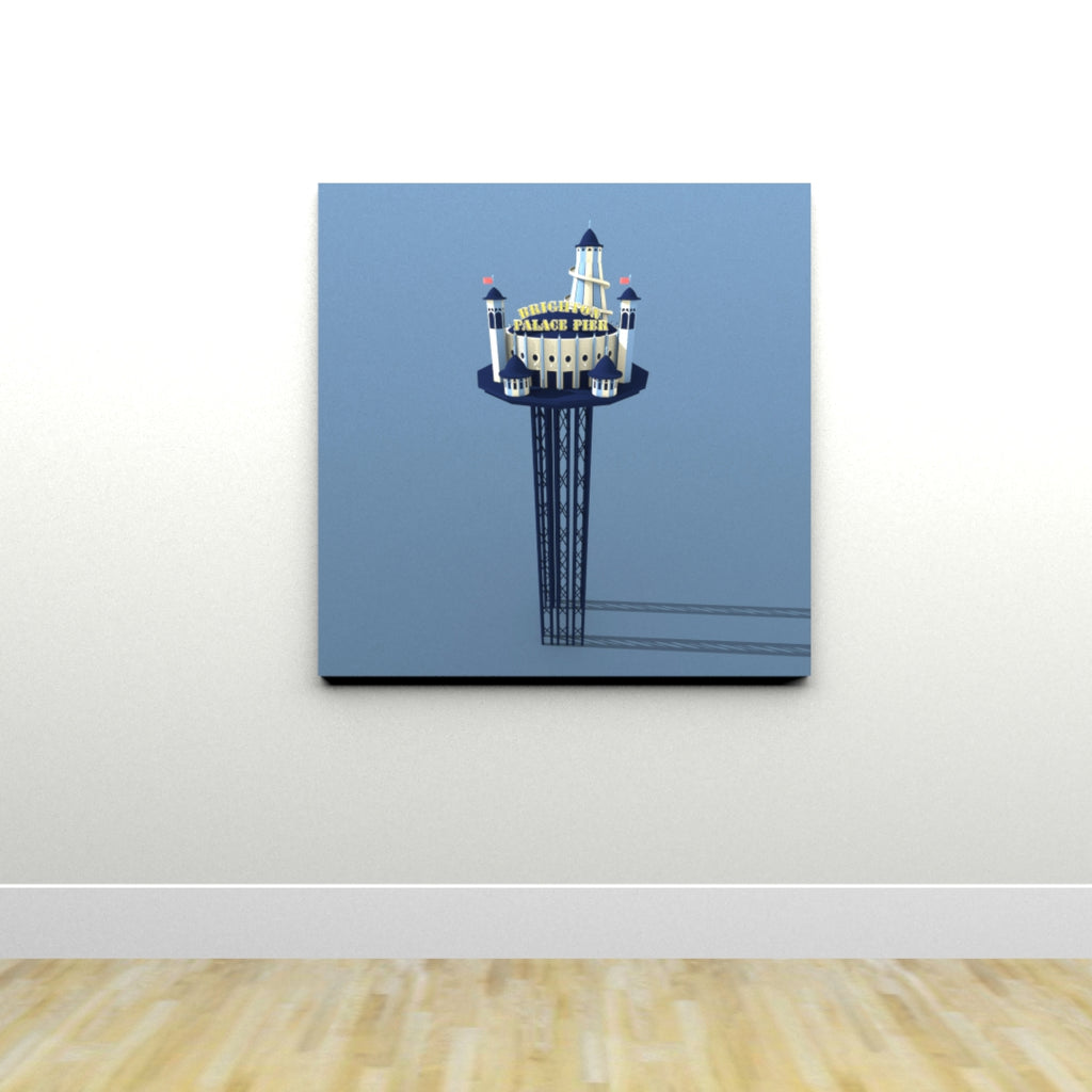 New Palace Pier Tower (Print)