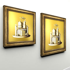 Brighton Gold Canvas (Print)