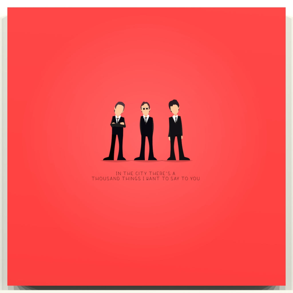 In the City - The Jam - Beatone Print