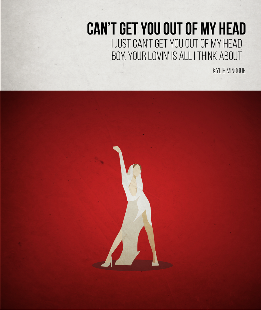 Can't get you out of my head - Kylie Minogue - Beatone Canvas Print 2020