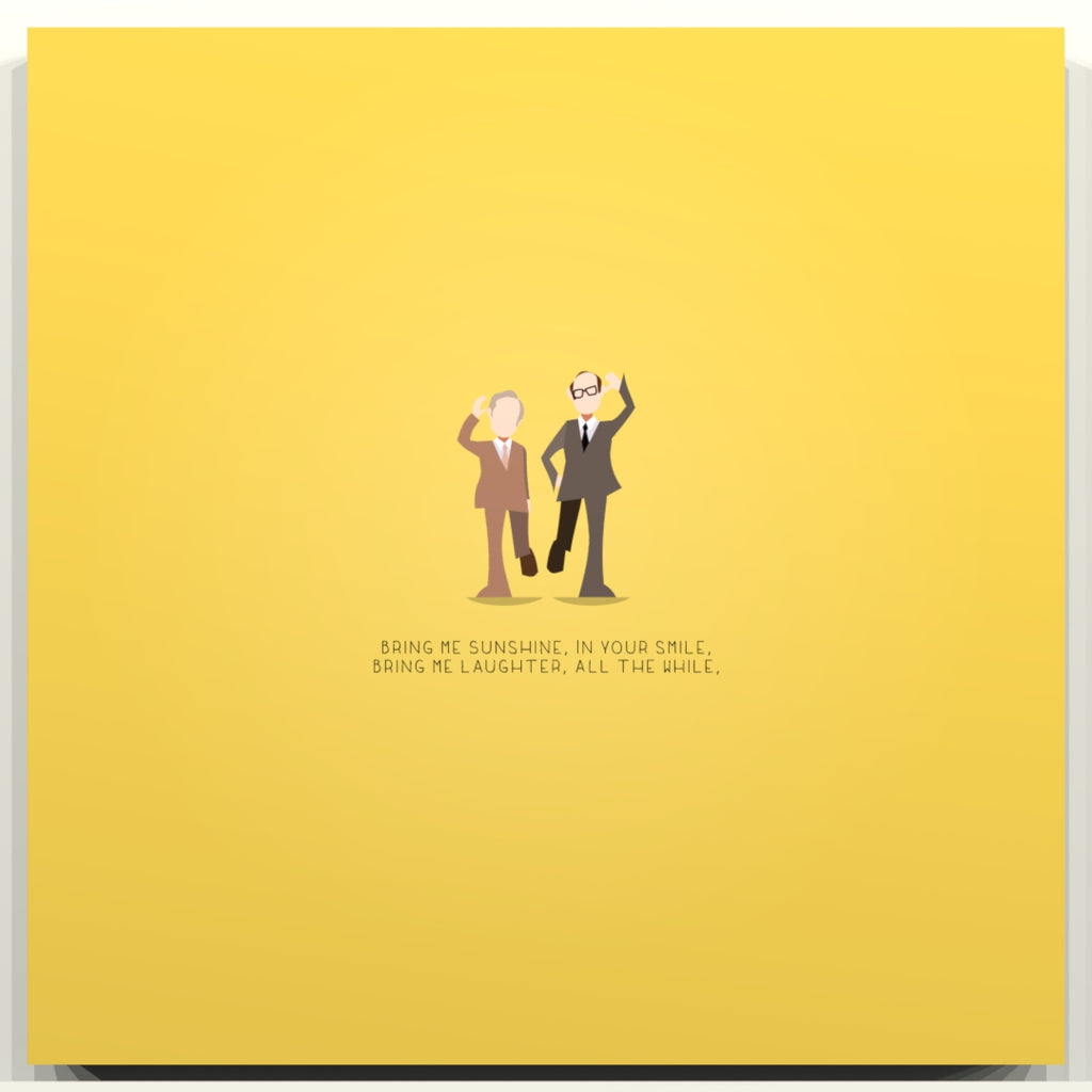 Bring me Sunshine - Morecambe and Wise - Beatone Print