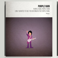 Purple Rain - Prince - Beatone Print 2020