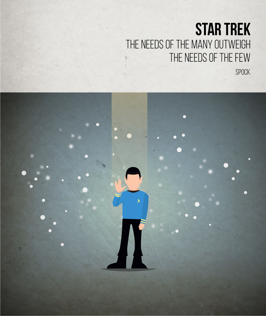 Star Trek - Spock - Beatone Print 2020