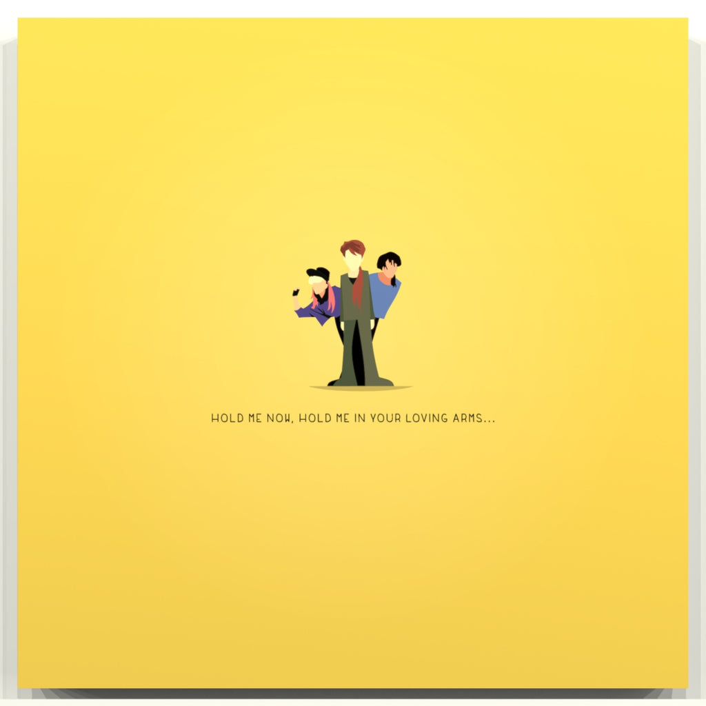 Hold me know- Thompson Twins - Beatone Print
