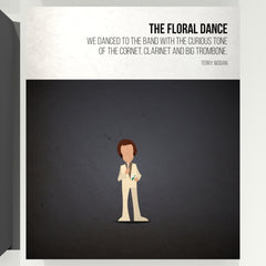The Floral Dance - Terry Wogan - Beatone Print 2020