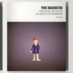 Pure Imagination - Gene Wilder - Beatone Print 2020