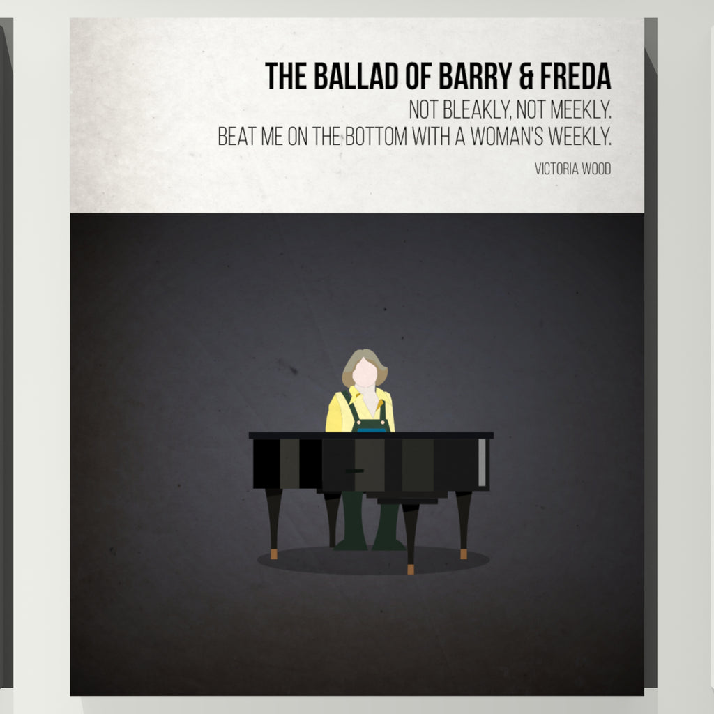 Ballard of Freda and Barry - Victoria Wood - Beatone Print 2020