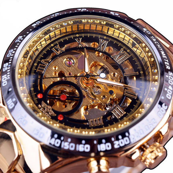 Mens Golden Watchman