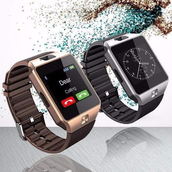 HD Smart Watch - Twitter, Facebook, WhatsApp, HD Camera & Much More