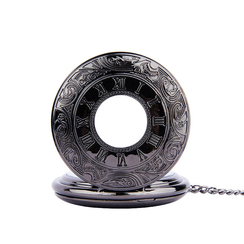 Dark Roman Pocket Watch