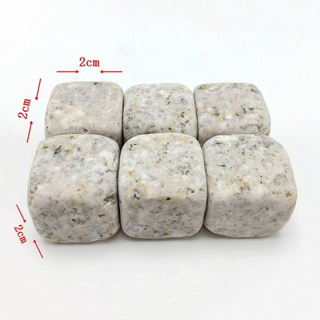 6pc Natural Whiskey Stones