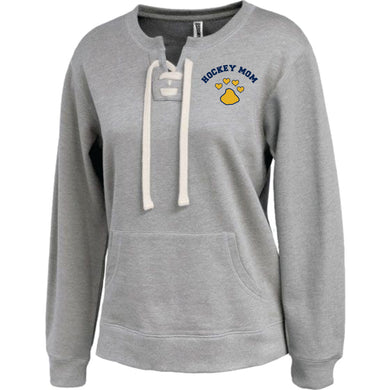 Littleton Hockey Womens Lace Up Crewneck / Pennant 5416