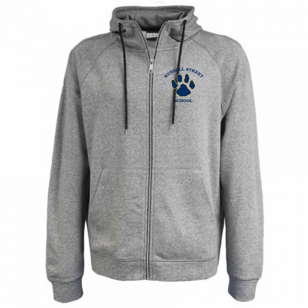 Russell Street School Full Zip Terry Fleece / Pennant 7305