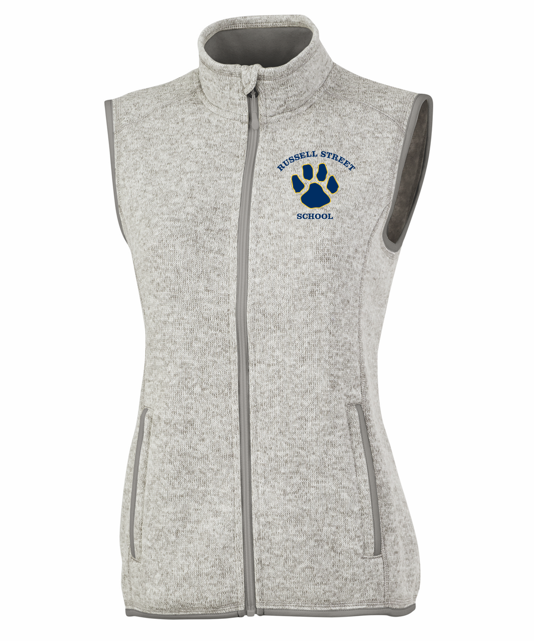 Russell Street School Heathered Ladies Vest / Charles River 5722