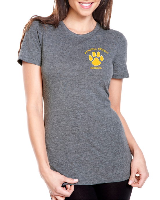 Russell Street School Tri Blend Ladies Tee / Alphabroder 6710