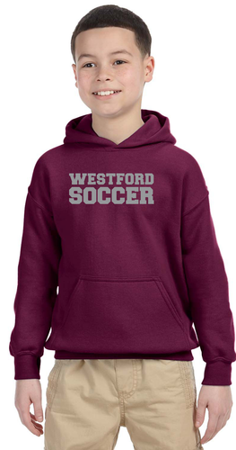 Westford Soccer Hoodie Sweatshirt / Alphabroder G185 *Available in Youth Sizes*